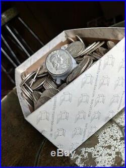 5 Five Standard Pounds of 90% Silver Halves NO JUNK Kennedy Franklin Liberty