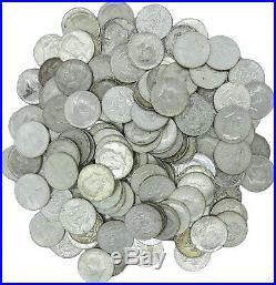 (60) 1965-1969 JFK Kennedy Half Dollar $30 Face Roll 40% Silver Coin Bulk Lot
