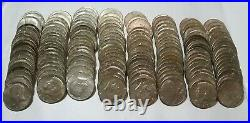 8 Rolls (160 Coins) 40% Silver 1965-1970D Kennedy Half Dollars