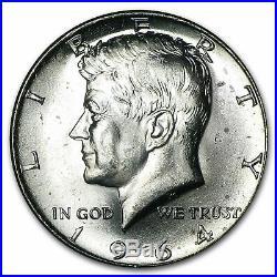 90% Silver 1964-P/D Kennedy Half Dollar 20-Coin Roll BU