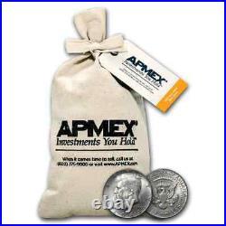 90% Silver Kennedy Half-Dollars $50 Face-Value Bag (1964) SKU #88198