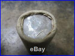 A Roll of BU/UNC 1964 Kennedy 90% Silver Half Dollars Nice ORIGINAL bank ROLL