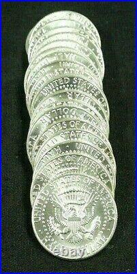 BU ROLL (20) 1964 KENNEDY SILVER 50c (380)