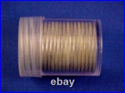 Bu Roll Of 20 1964 Kennedy 90% Silver Half Dollars