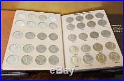 Complete 1964-2017 Kennedy Half Dollar Set P, D, & Silver Coins In Dansco
