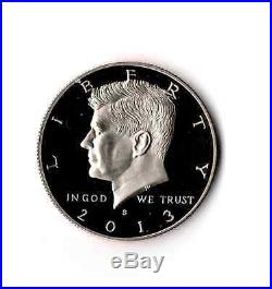 Complete 1992 2013 + 2014 S 90% SILVER Proof Kennedy Half Dollar 23 Coin Set