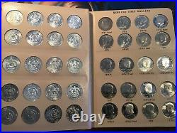 Complete Kennedy Half Dollar Set 1964-1995 Silver Bu And Proof P, D, S 93 Coins