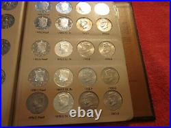 Complete Kennedy Half Dollar Set 1964 Thru 2012 P-D-S-Proof and S-Silver Proof