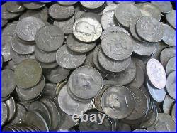 HUGE LOT of 329 Kennedy 40% Silver Half Dollars 1965-1969 $164.50 Face Value NR