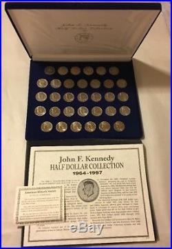 John F. Kennedy Half Dollar Collection 1964-1997