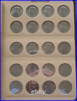 Kennedy HALF DOLLAR SET P/D/S 1964 to 2010 Dansco Album 78 Coins