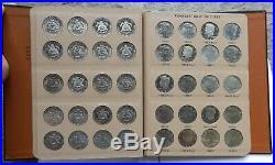 Kennedy Half Dollar Collection Dansco 1964-1997 P/D/S Silver & Clad 99 Coins