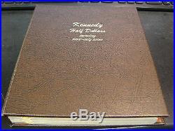 Kennedy Half Dollar Set Complete 1964-2001 Proof SMS Silver Proof Dansco Album