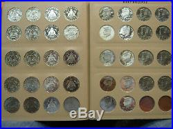 Kennedy Half Dollar Set Complete 1964-2006 BU Unc. Proof SMS Silver Proof Dansco