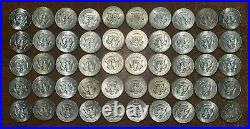 Lot Of 200 40% Silver Kennedy Half Dollars- $100. Face Value 1965-1969