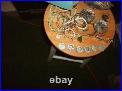 Lot of 6 Kennedy Silver Half Dollars 1964 + 5.4 oz sterling silver + tiffany box