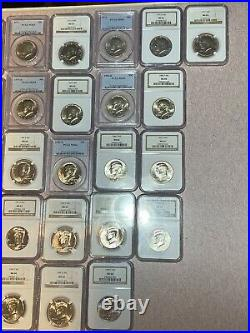 NGC/PCGS Kennedy Half Business Strike Set, 111 Coins 1964-2020 PD Complete