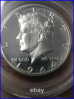 PCGS 1964 Accented Hair CAM Cameo 50C Half Dollar Kennedy JFK Beautiful Coin