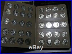 PDSS GEM BU 1964-2020 Kennedy Half Dollar Complete Set 194 Coins (2 Dansco)