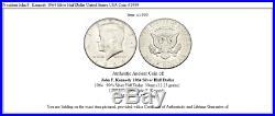 President John F. Kennedy 1964 Silver Half Dollar United States USA Coin i41999
