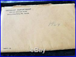 RARE! 1964 Kennedy Half Dollar Accented Hair in original Unopened 90%Silver Proo