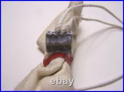 Rare Original Sealed Bag of Ted Binion Hoard 1lb. 90% Silver Horseshoe Las Vegas