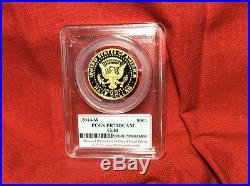 Rare/scarce 2014 Kennedy 50th Anniversary Pcgs Sets Gold / Silver