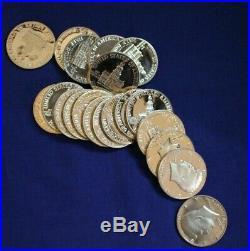 Roll 1776 1976-s Proof 40% Silver Kennedy Half Dollars