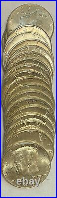 Roll 1964 Kennedy Halves 90% Silver
