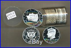 Roll 2009 S SILVER PROOF Gem Deep Cameo Kennedy Half Dollar x 20 coins