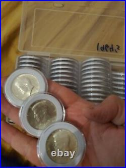 Roll of 20 $10 Face Value 90% 1964 JFK Kennedy Silver Half Dollars-Free Gift