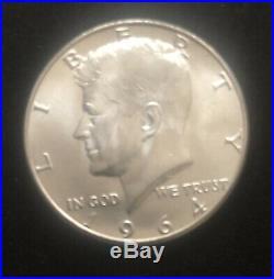 Roll of (20) 1964 50c JFK Half Dollars BU