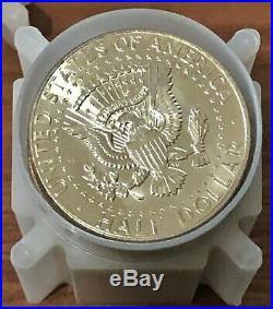Roll of 20 1964 Kennedy Half Dollars all BU 90% Silver