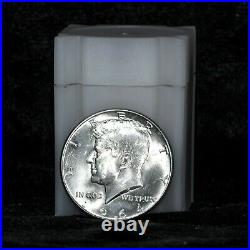 Roll of 20 Uncirculated 1964 Kennedy Half Dollars 90% Silver Free Shipping