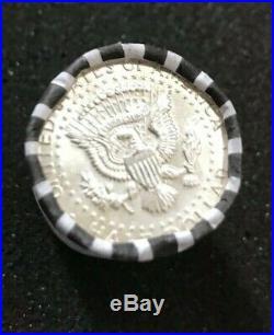 Silver 1964 Kennedy 90% Silver Half Dollars 160 Coins 8 Rolls BU Sale Lot