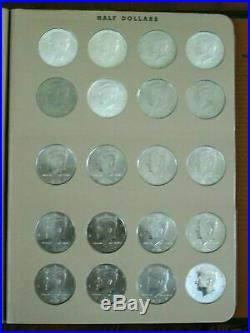 Super Set 253 Kennedy Half Dollars PDSS BU PF Silver PF Rev PF Matte Satin Etc