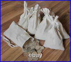 Survival Money 1964 Kennedy Half Dollar 90% Silver Circulated Mixed 50 Coins Lot