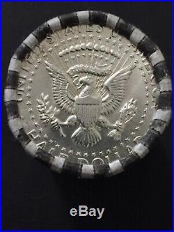 Uncirculated Roll of 20 1964 Kennedy Half Dollar 90% Silver Coins